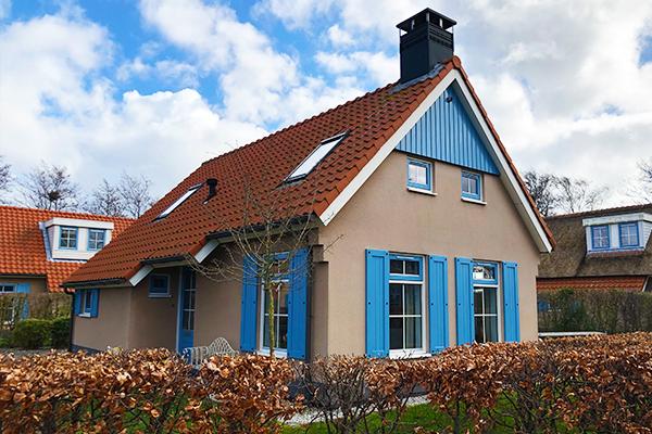 Das Ferienhaus Texel | Das Ferienhaus im Kustpark - Außenansicht
