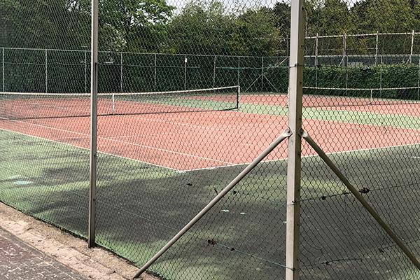 Das Ferienhaus Texel | Tennisplätze im Kustpark